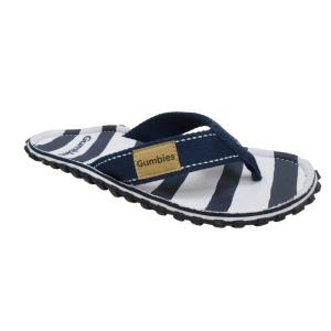 1000 Miler Thong/Jandal - Striped Navy