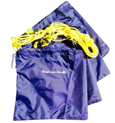 Beach Sand Bag 4pc Tether Kit
