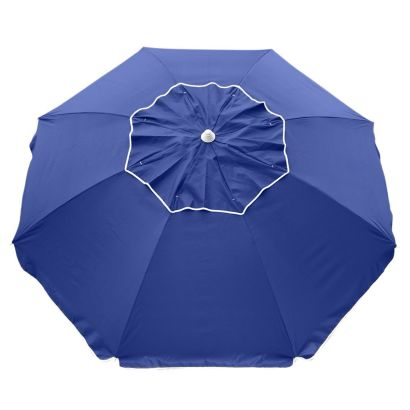 BEACHCOMBER 210CM BEACH UMBRELLA - NAVY