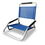 OSTRICH ALUM  LOW SAND /CONCERT CHAIR - BLUE