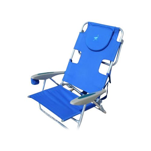Ostrich Your Back Beach Chair Blue Beach Chair BeachKit