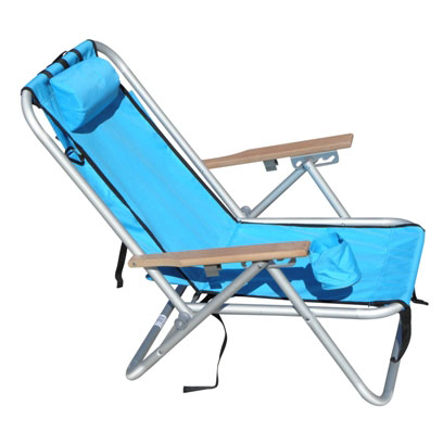 WEAREVER ALUMINIUM BACKPAK CHAIR - TURQ  sc 1 st  BeachKit & Wearever Backpak Chair - Turquoise - BeachKit