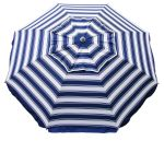 DAYTRIPPER 210CM BEACH UMBRELLA - NAVY/WHITE
