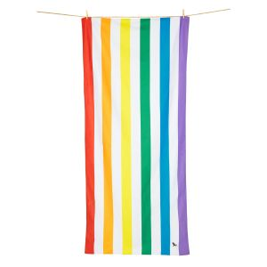 Dock and Bay XL Microfibre Beach Towel - RAINBOW SKIES