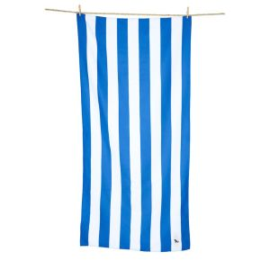 Dock and Bay XL Microfibre Beach Towel - BONDI BLUE
