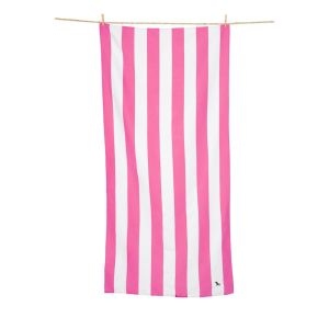 Dock and Bay XL Microfibre Beach Towel - PINK