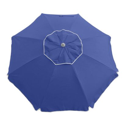 ESSENTIAL 185CM BEACH UMBRELLA - NAVY