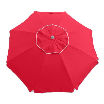 ESSENTIAL 185CM BEACH UMBRELLA - RED