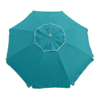 ESSENTIAL 185CM BEACH UMBRELLA - TURQUOISE