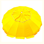 MAXIBRELLA 240CM BEACH UMBRELLA - YELLOW