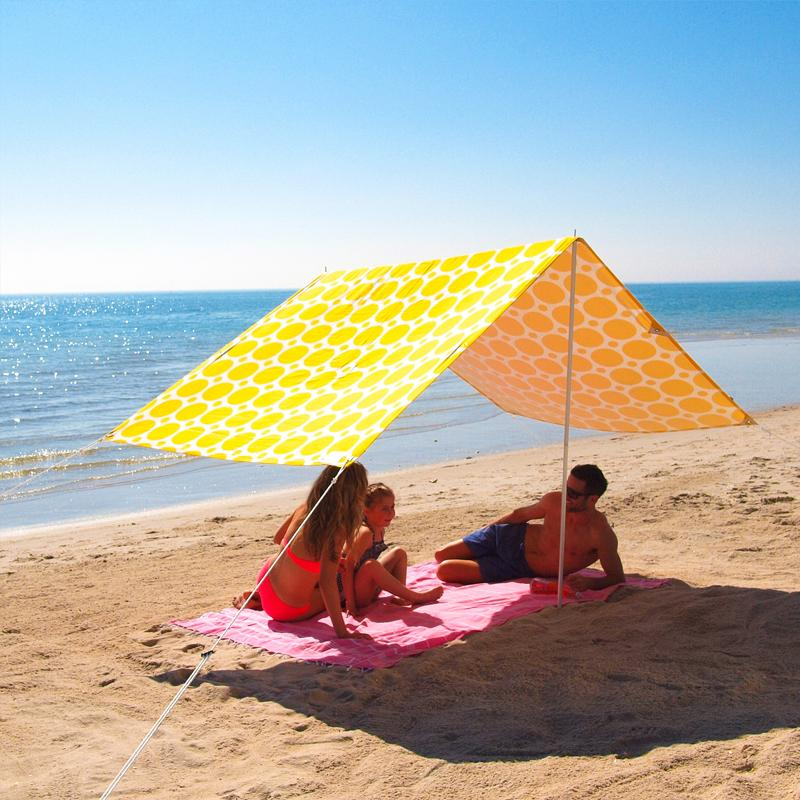 Sombrilla beach shade morning sunshine beachkit - Toldos para la playa ...