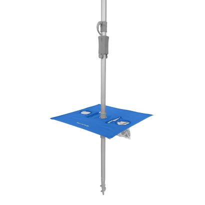 7 Foot (210cm) Sunraker Pole Table - Royal Blue INCL. NEW CARRY BAG