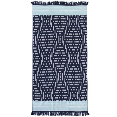 Kai Express Beach Towel - Navy
